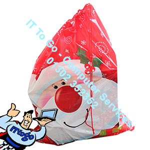 Giant Christmas Santa Sack - IT To Go - Computer Services