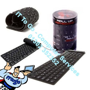Satzuma IT Roll UP USB Keyboard - IT To Go - Computer Services