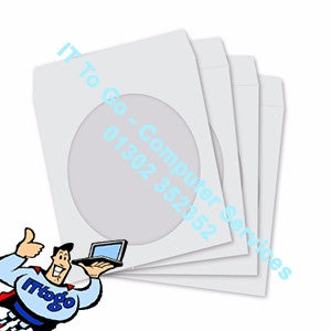 Humlin 100x Plastic CD Sleeves - IT To Go - Computer Services