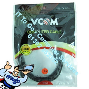 Vcom 3m 3.5 Male - Female Cable - IT To Go - Computer Services