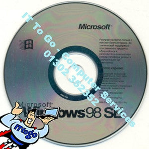 Microsoft Windows 98 SE - IT To Go - Computer Services