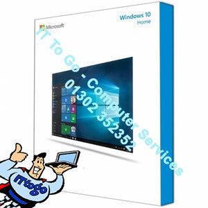 Microsoft Windows 10 Home 64bit OEM - IT To Go - Computer Services