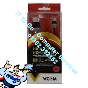 Vcom 1.8m CG581 Male To Male HDMI Cable - IT To Go - Computer Services
