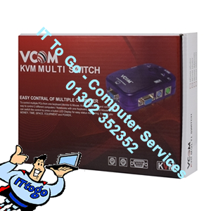 Vcom DD214 Auto Switch KVM 4 Port