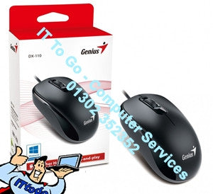 Genius DX-110 USB Wheel Mouse - IT To Go - Computer Services