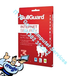 3 User Bullguard Internet Security 2018 Multi - IT To Go - Computer Services