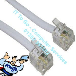 1m Phone - ADSL Cable - IT To Go - Computer Services