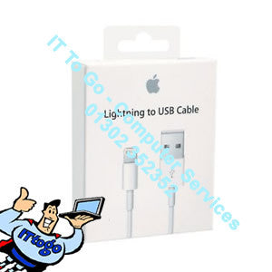 Apple Lightning to USB Lead 2m