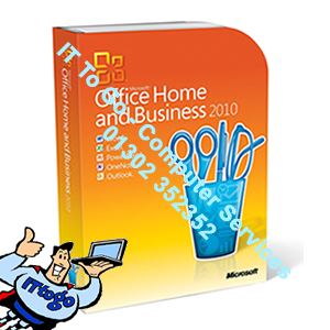 Microsoft Office Home & Business 2010 64bit OEM - IT To Go - Computer Services