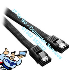 45cm SATA Data Cable Black