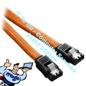 50cm SATA3 6gb Data Cable Orange - IT To Go - Computer Services