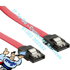 90cm SATA Data Cable Red