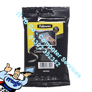Fellowes 20 Tablet Wipes - IT To Go - Computer Services