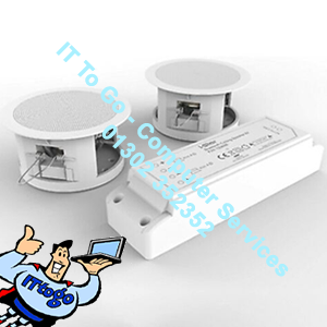 i-Star Ceiling Bluetooth Speakers Complete Kit Easy Install Ceiling Speakers