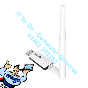 Tenda U1 300mbps USB Adapter - IT To Go - Computer Services
