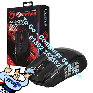 Marvo Scorpion G990 USB RGB LED Black Programmable High Performance Gaming Mouse