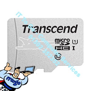 Transcend 32GB Micro SDHC Class 10 UHS-I U1 Flash Card