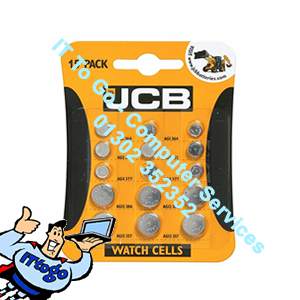 15x JCB Watch Batteries