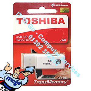 Toshiba 64gb USB U301 Flash Drive 5yr Warranty