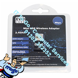 Evo Labs N300 Mini N USB Adapter