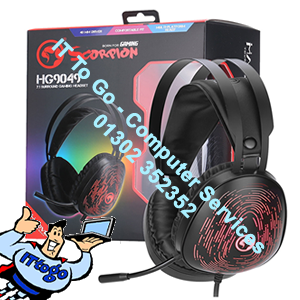 Marvo Scorpion HG9049 7.1 Virtual Surround Sound 7 Colour LED Gaming Headset (Cabled)