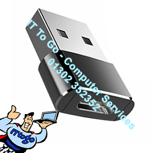 USB 3.0 Male (M) - USB Type C 3.1 Female (F) Adapter