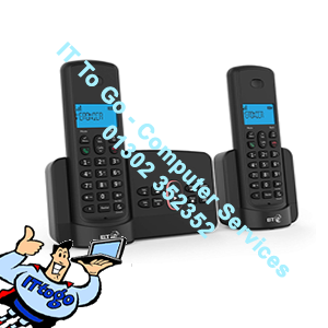2x BT 3110 VoiceMail Cordless Premium Nuisance Call Blocker