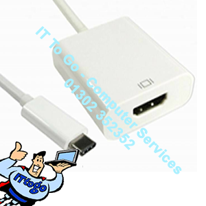 USB Type C Male (M) - HDMI Female (F) Adapter