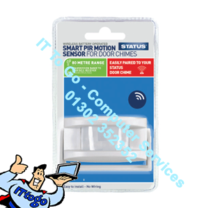 Status Smart PIR Motion Sensor For Door Chimes