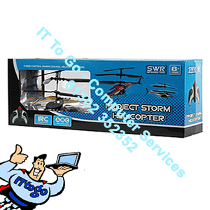 SWR Project Storm Helicopter (Blue)