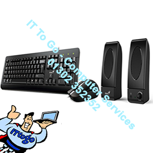 Genius KMS-U130 Keyboard, Mouse & Speakers Set