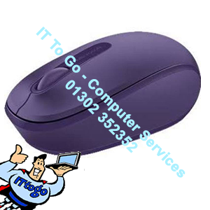 Microsoft Wireless Mobile Mouse 1850 Purple