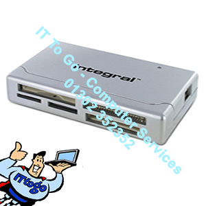 Integral Combo USB 2.0 Card Reader