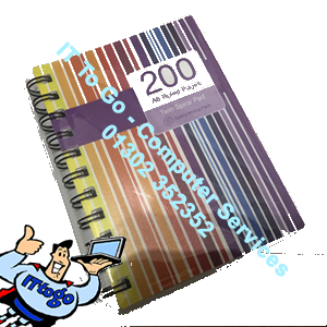 200 A6 Ruled Pages Password Note Book