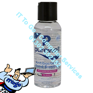 PureWell Quick Drying Anti Bacterial Hand Wash 75% Alcohol 100ml