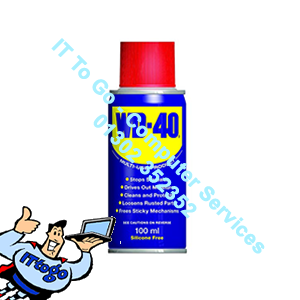 WD40 80ml Can
