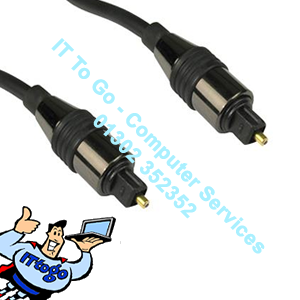 2m Toslink Digital Optical (M) to Digital O Cable - IT To Go - Computer Services