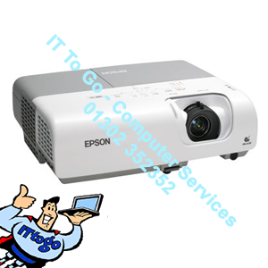 Epson EMP-X5 Projector VGA, SVideo, Coaxial Video
