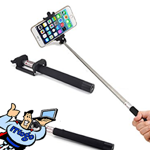 100cm Selfie Stick (Black) - IT To Go - Computer Services
