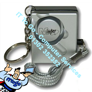 Minder Personal Attack Safety Key Ring Alarm 140db