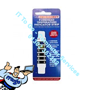 PMS Emergency Forehead Thermometer Strip