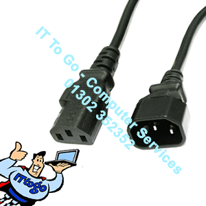 1.8m Main Kettle Plug Extended Power Lead Cable