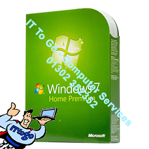 Microsoft Windows 7 Home 64bit OEM - IT To Go - Computer Services