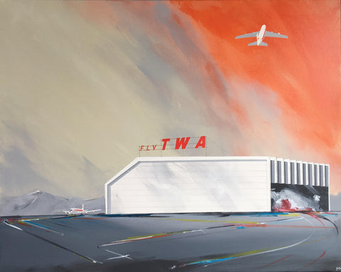 Fly TWA to SF by Michael Murphy