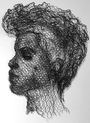 Prince Wire Portrait by Marina Berlin