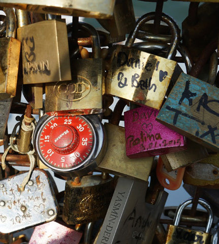 Paris Love Locks