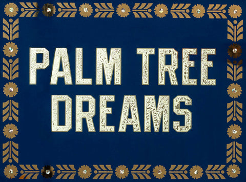 Palm Tree Dreams (Blue)