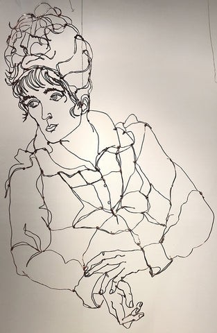 Egon Schiele Study Portrait of Wally
