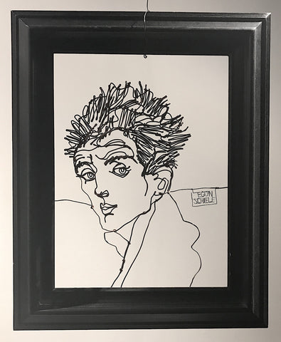 Portrait of Egon