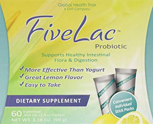 Fivelac - Probiotic 60 packets